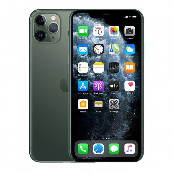 iPhone 11 Pro Max 64GB Verde meia-noite