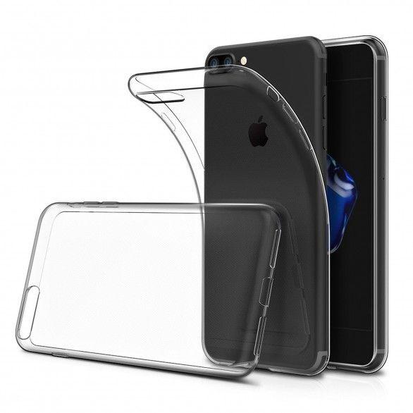 silicone cover Transparent iPhone 7 Plus
