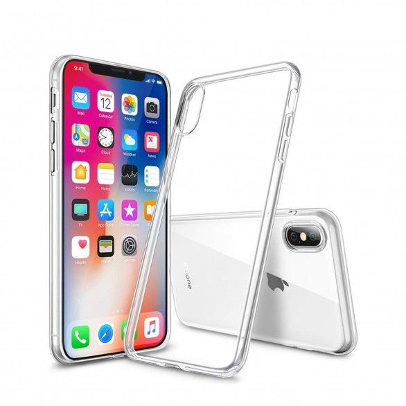 Capa silicone Transparente iPhone X