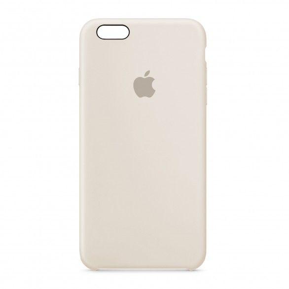 Capa silicone Bege iPhone 6 Plus