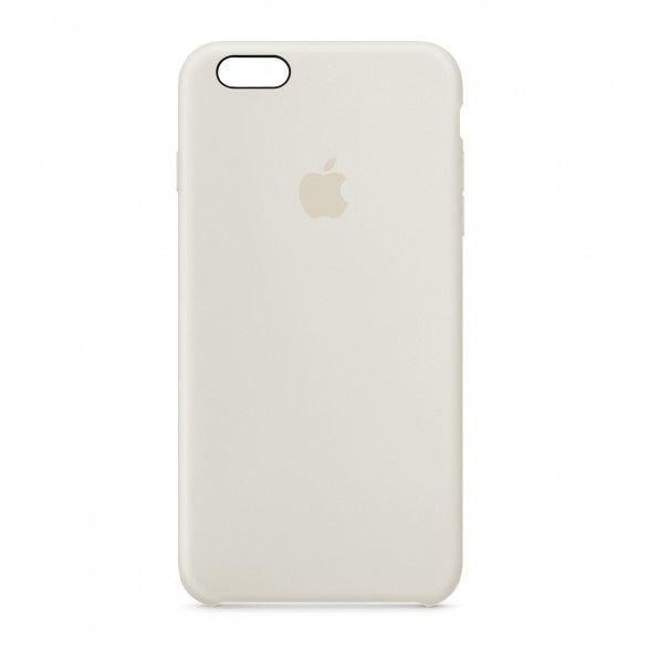 Capa silicone Branco iPhone 6 Plus