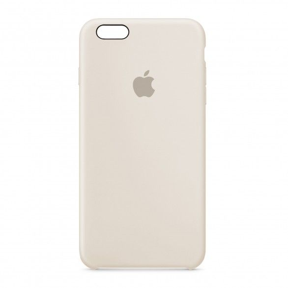 Capa silicone Bege iPhone 6s Plus