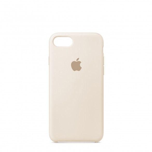 Capa silicone Bege iPhone 7