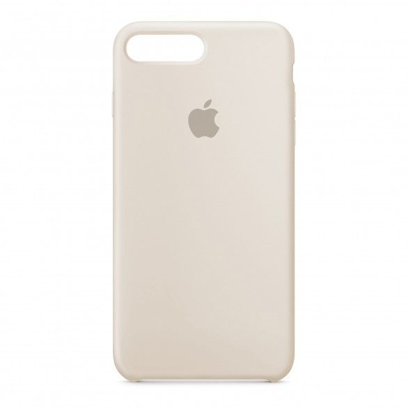 Capa silicone Bege iPhone 7 Plus