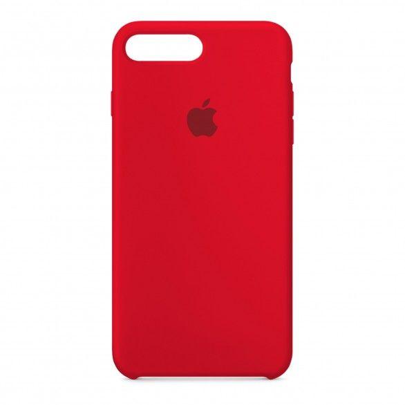 Capa silicone Vermelho iPhone 7 Plus