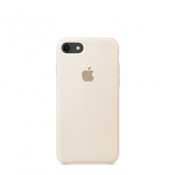 Capa silicone Bege iPhone 8