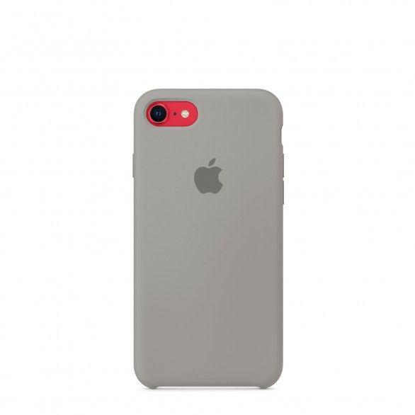Capa silicone Cinzento iPhone 8