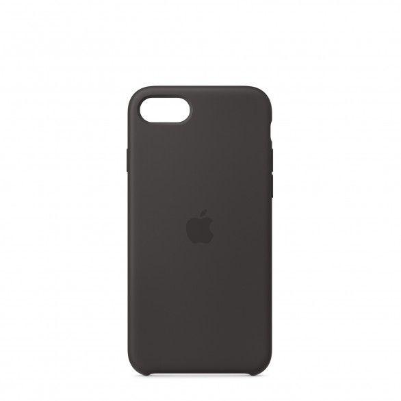 Capa silicone Preto iPhone 8