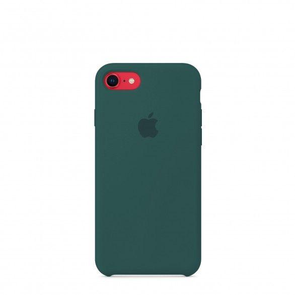 Capa silicone Verde iPhone 8