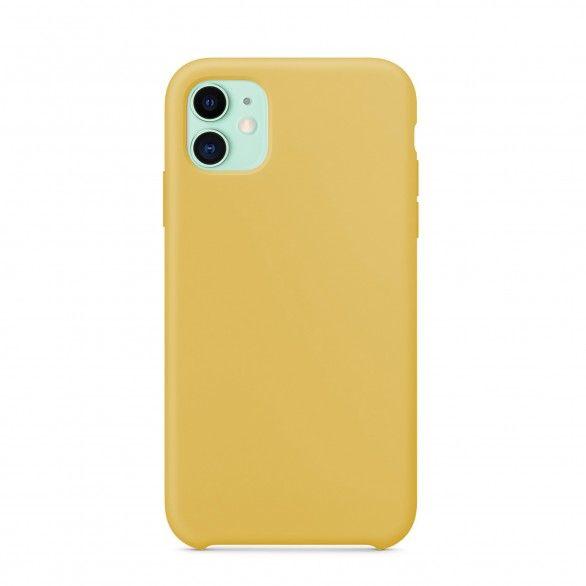 Capa silicone Amarelo claro iPhone 11