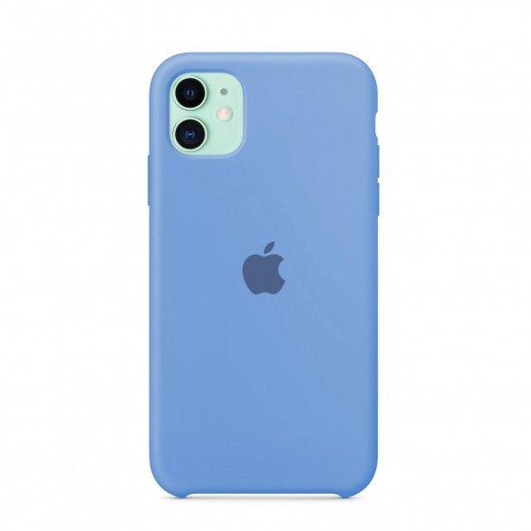 Capa silicone Azul claro iPhone 11