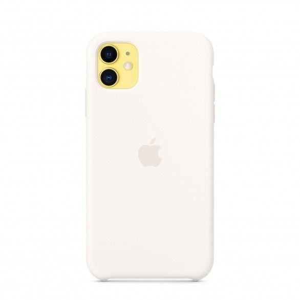 Capa silicone Branco iPhone 11