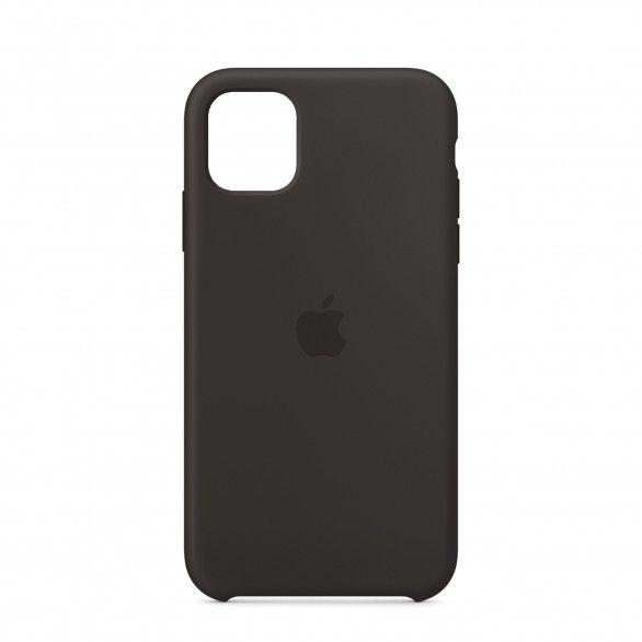 Capa silicone Preto iPhone 11