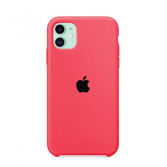 Capa silicone Rosa iPhone 11