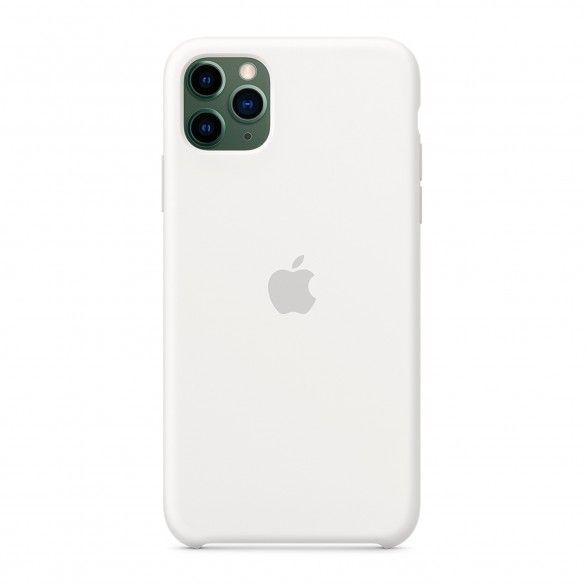 Capa silicone Branco iPhone 11 Pro Max