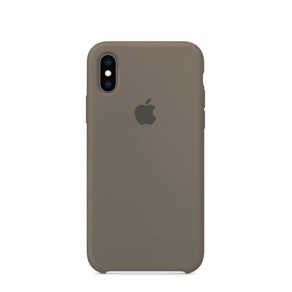 Capa silicone Cinzento iPhone X