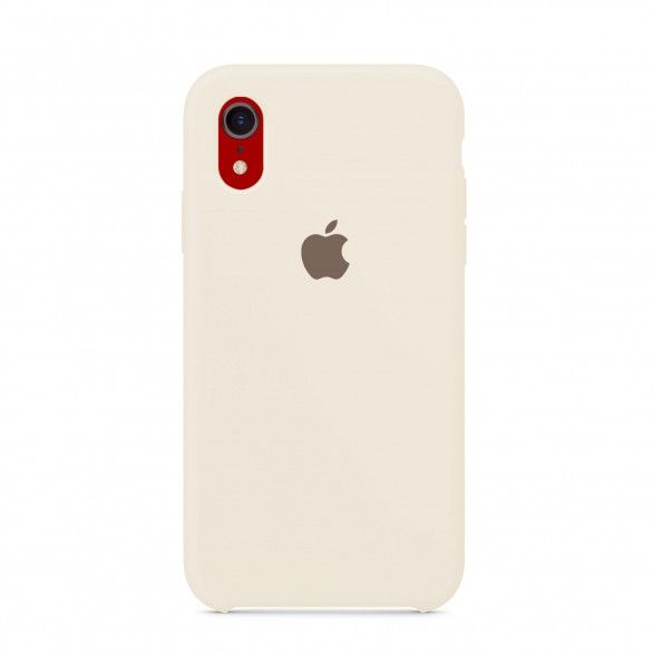 Capa silicone Bege iPhone XR
