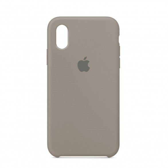 Capa silicone Cinzento iPhone XR