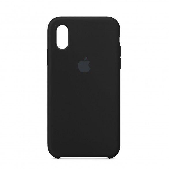 Capa silicone Preto iPhone XR