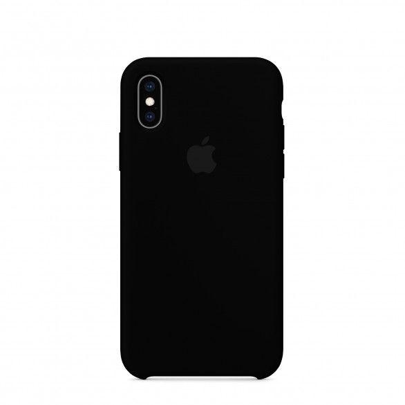 Capa silicone Preto iPhone XS