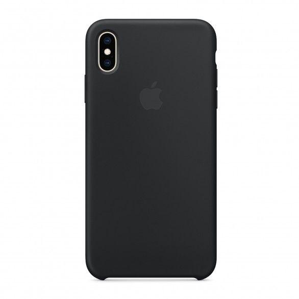 Capa silicone Preto iPhone XS Max