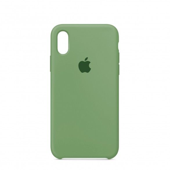 Capa silicone Verde claro iPhone XS