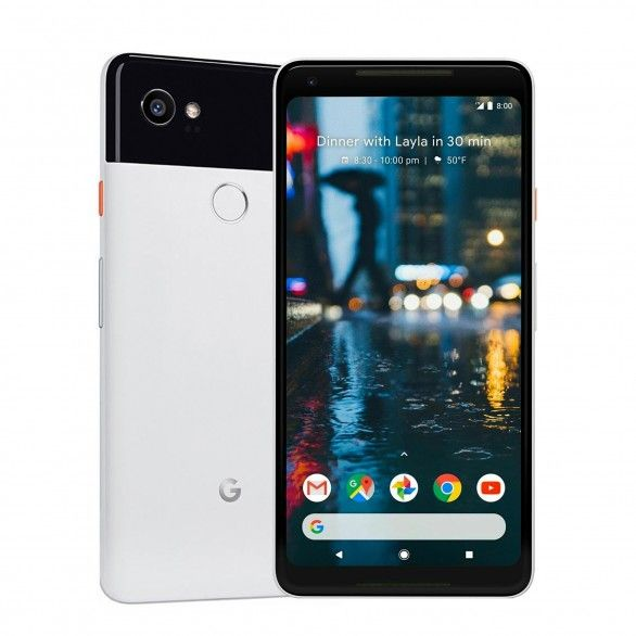 Google Pixel 2 XL 4GB 64GB Preto e Branco