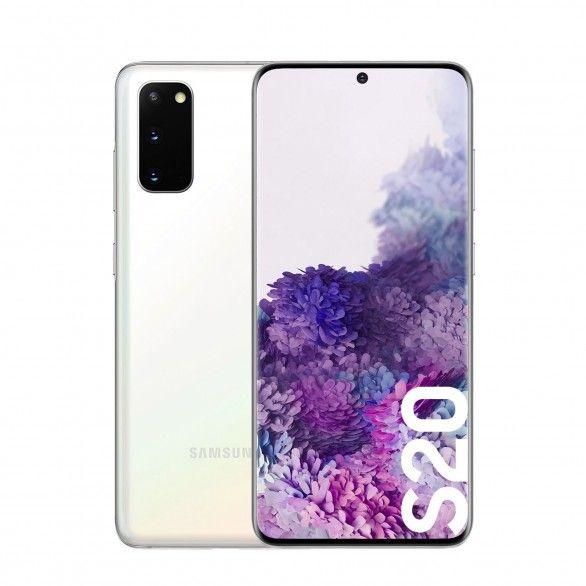 Samsung Galaxy S20 8GB 128GB Dual Sim White