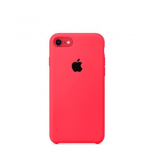 Capa silicone Rosa iPhone 7