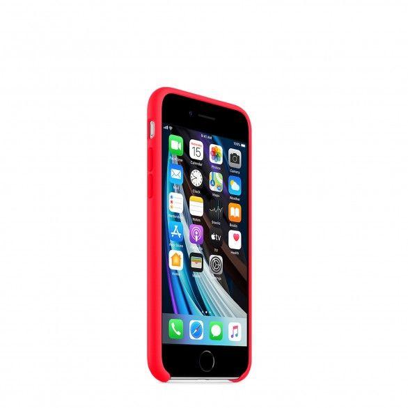 Capa silicone Rosa iPhone 8