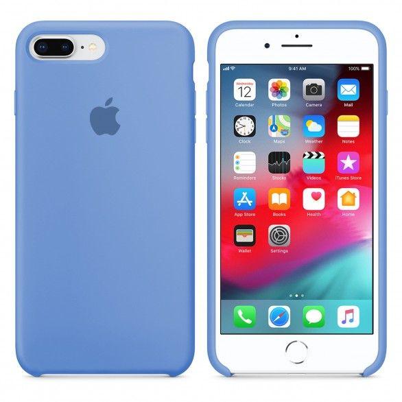 Capa silicone Azul claro iPhone 7 Plus