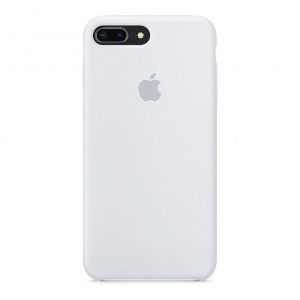 Capa silicone Branco iPhone 8 Plus