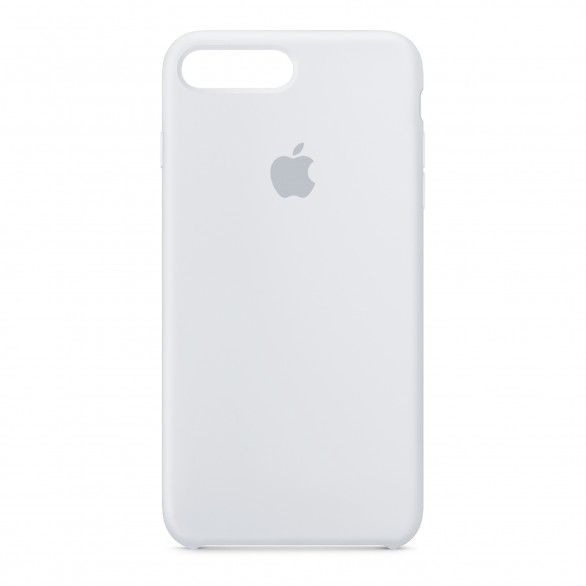 Capa silicone Branco iPhone 7 Plus