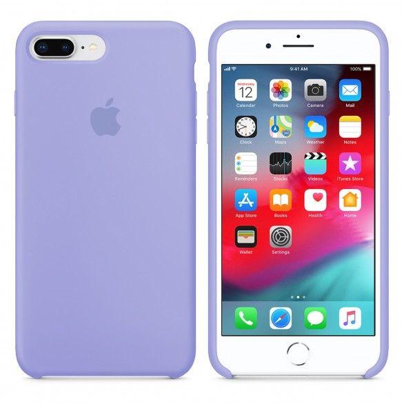 Capa silicone Violeta iPhone 8 Plus