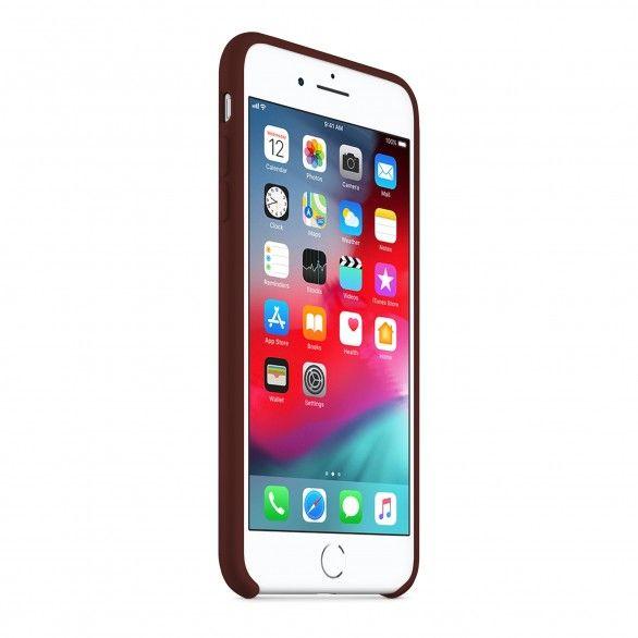 Capa silicone Castanho iPhone 8 Plus