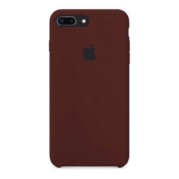 Capa silicone Castanho iPhone 7 Plus
