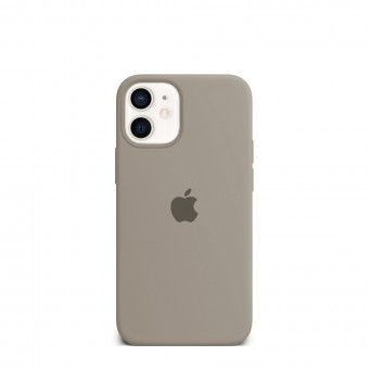 Capa silicone Cinzento iPhone 12 Mini