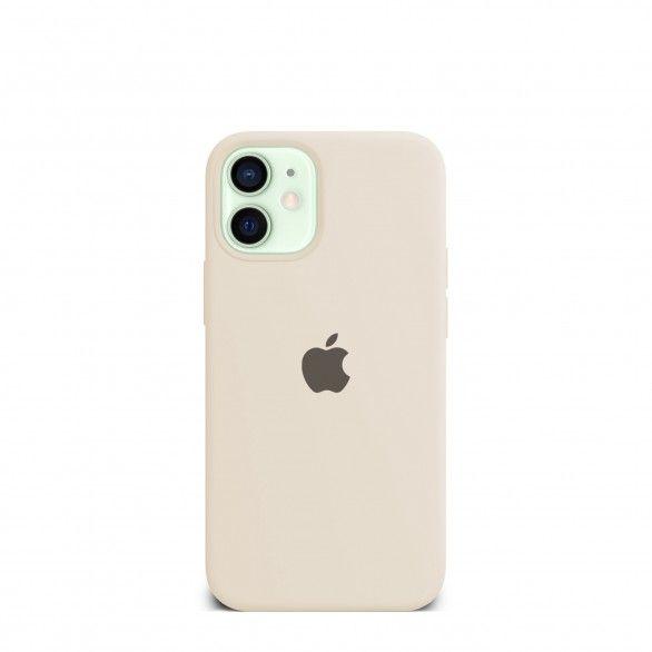 Capa silicone Bege iPhone 12 Mini