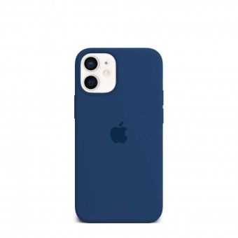 Capa silicone Azul iPhone 12 Mini