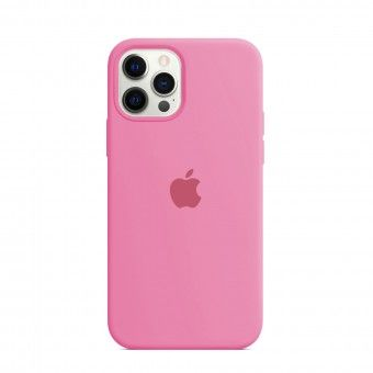 Cover Light pink silicone iPhone Pro 12