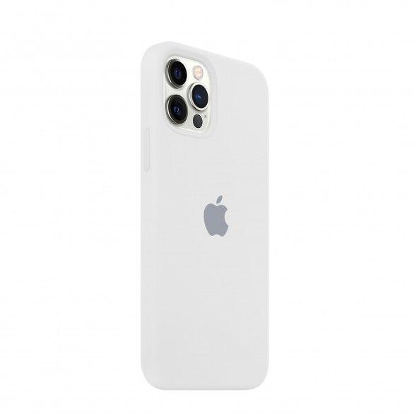 Capa silicone Branco iPhone 12 Pro