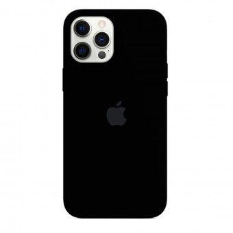 Capa silicone Preto iPhone 12 Pro Max