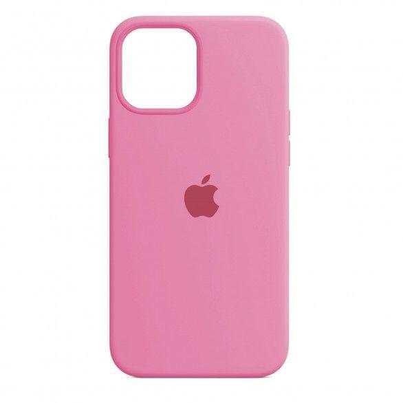 Capa silicone Rosa claro iPhone 12 Pro Max