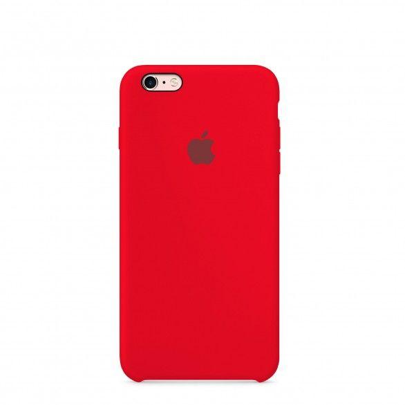 Capa silicone Vermelho iPhone 6s