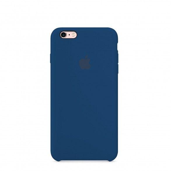 Capa silicone Azul iPhone 6s