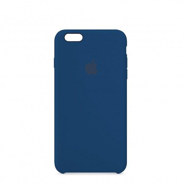 Capa silicone Azul iPhone 6