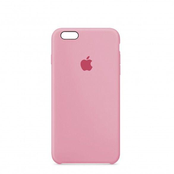 Capa silicone Rosa claro iPhone 6s