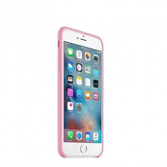 Capa silicone Rosa claro iPhone 6