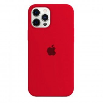 Red silicone cover iPhone 12 Pro Max