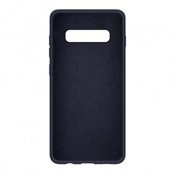 Capa silicone Samsung S10 Plus Azul escuro Open Box Mobile